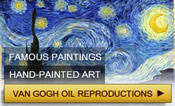 Van Gogh reproductions.