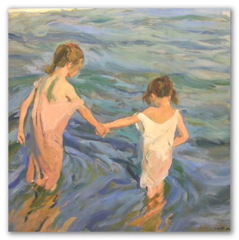 Girls in the Sea