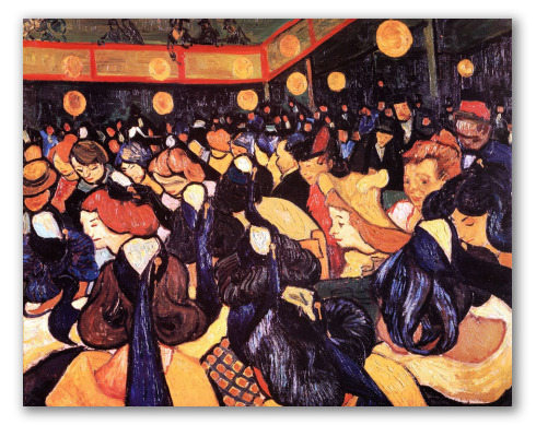 The Dance Hall in Arles
