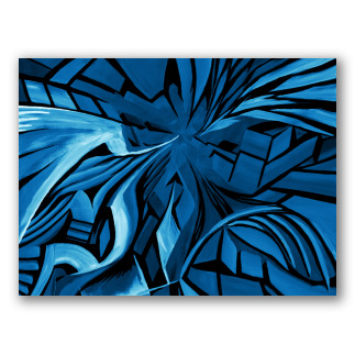 Blue Shapes